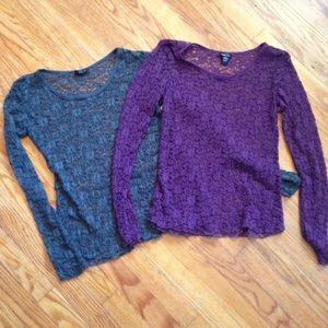 2 Lace Shirts